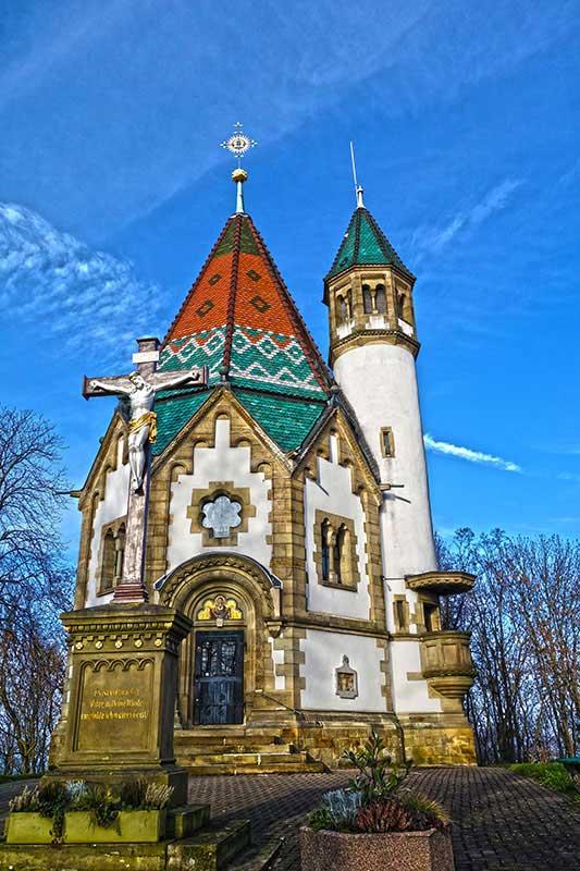 Die schöne Kapelle in Malsch