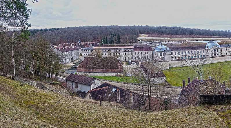 Das große Kloster / Gefängnis von Clairveaux