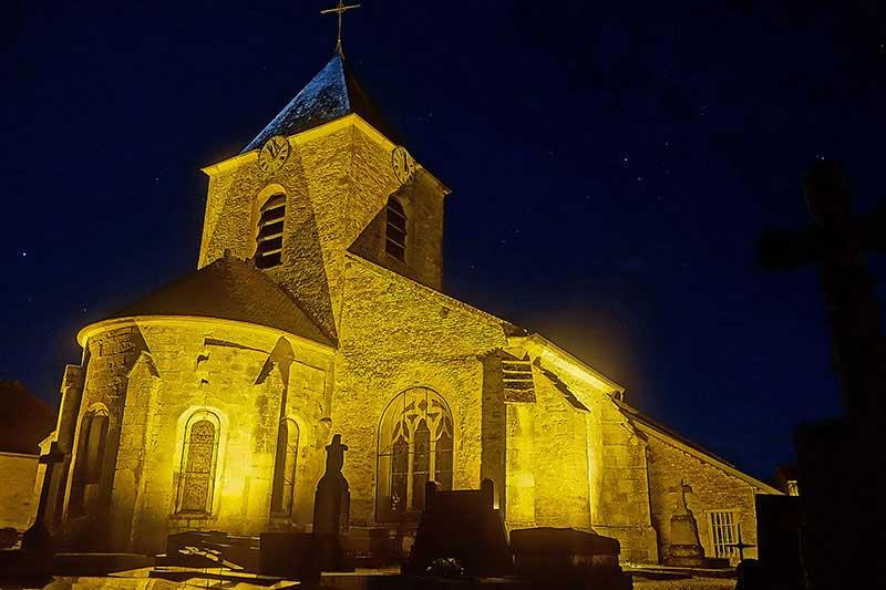 Die Kirche von Colombey les deux Eglises