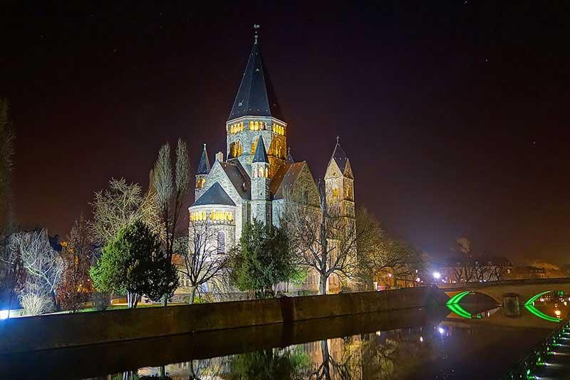 Die Kirche Eglise Saint Martin in Metz