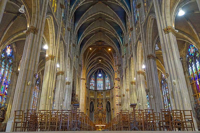 Die Sehenswürdigkeiten von Nancy, hier die schöne Basilika