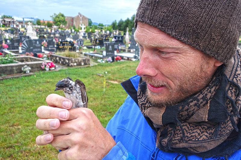 Vogelsprache: Survivaltrainer Heiko Gärtner