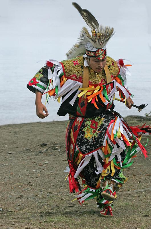 Nur wenn die Natur auf den Schamanen reagiert, ist es ein echtes Ritual.
