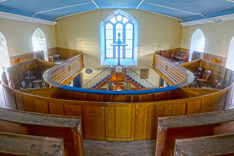 Unsere Kirche für die Nacht