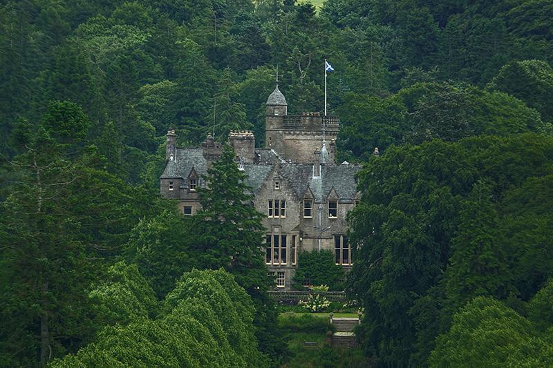 Schottisches Märchenschloss
