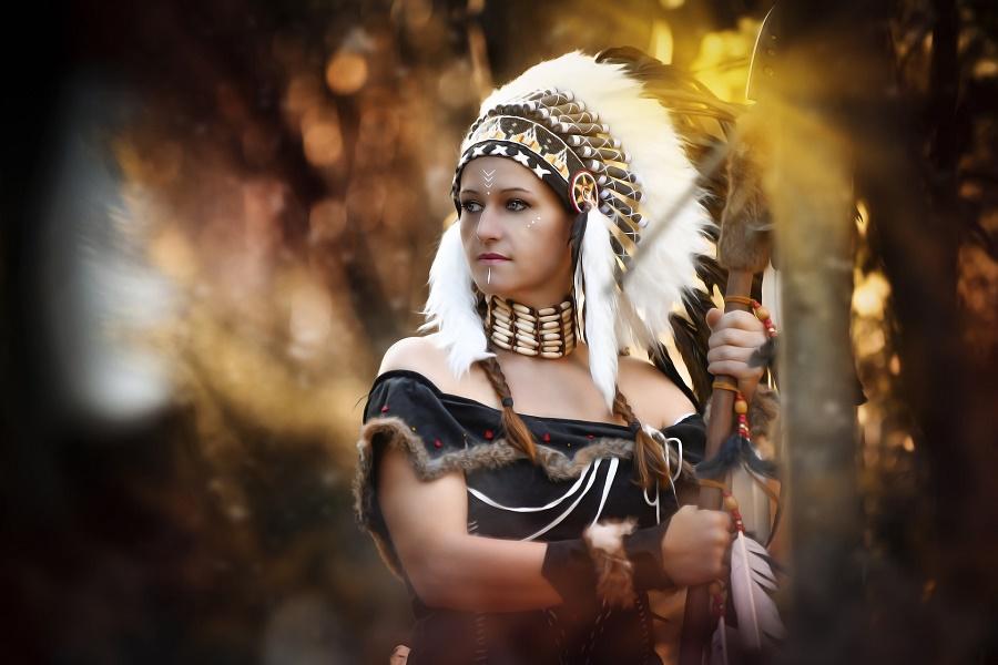 Die weiße Büffelkalbsfrau in der Legende.