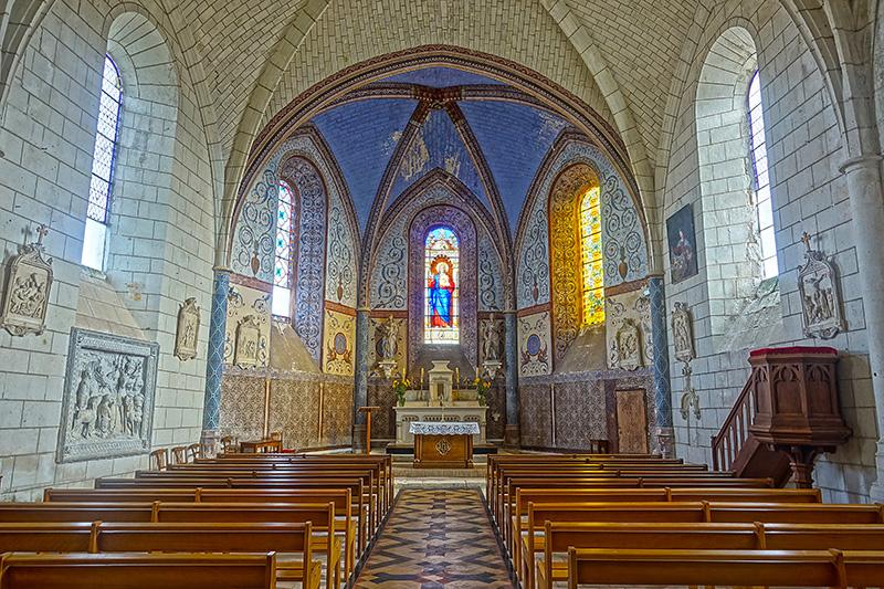 De Kirchensaal nach dem Gottesdienst.