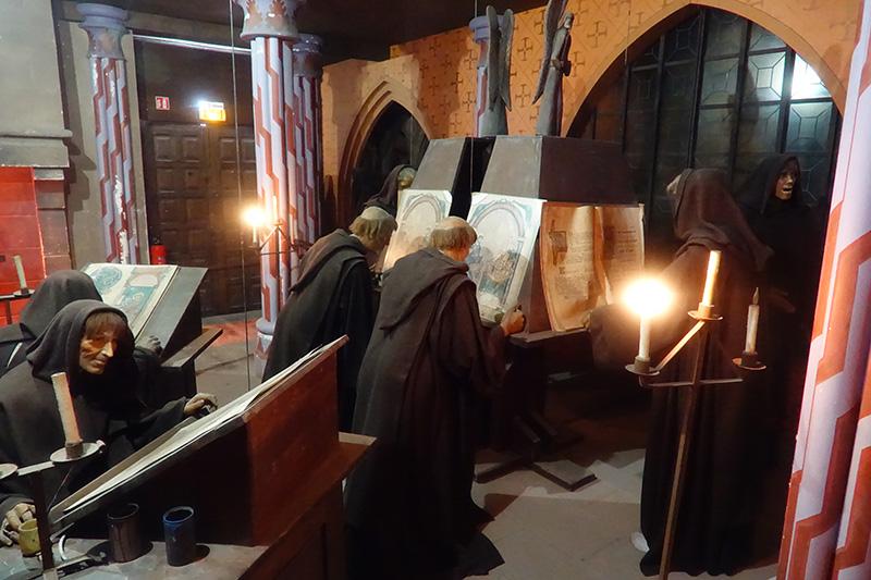Damals hatten die Mönche noch echte Aufgaben