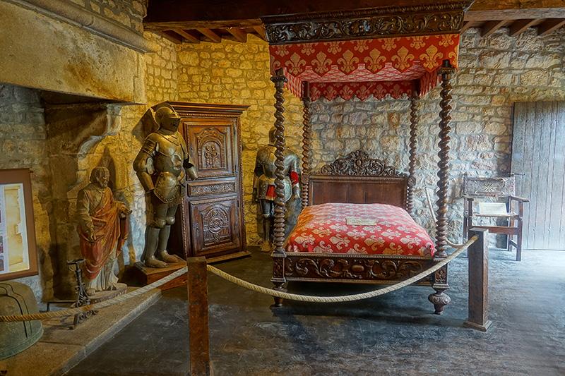 Im Museum sieht man den Lebensstil, der viele Jahrhunderte zuvor auf Mount Saint Michelle gelebt wurde