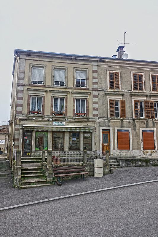Einkaufsmeile von Bains-les-Bains