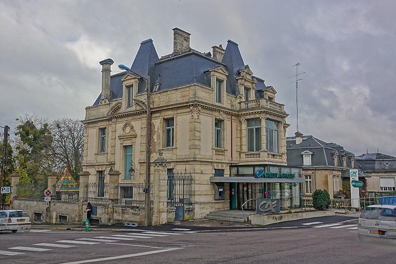 Die französische Bank Credite Agricole