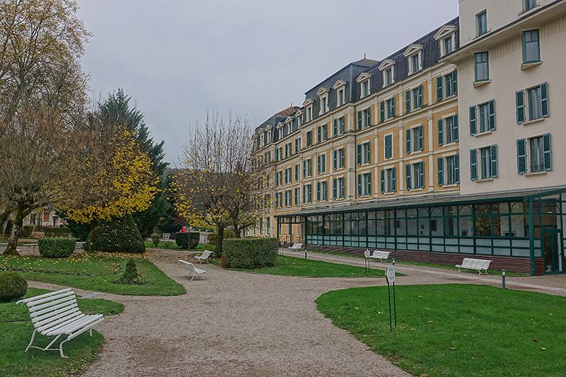 Das Kur-Hotel von Bains-le-Bains