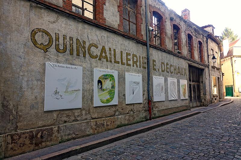 Moderne Kunst auf der Straße