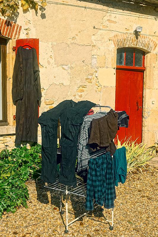 Endlich mal wieder Sonne um die Wäsche zu trocknen.