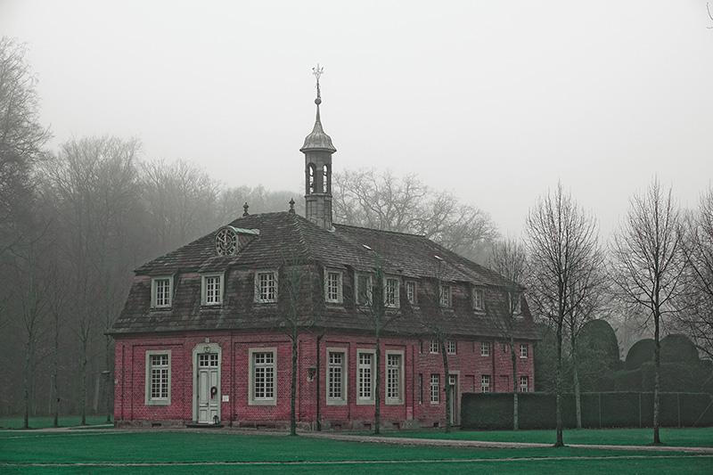 Das historische Jagdschloss zu Sögel in Nordwestdeutschland