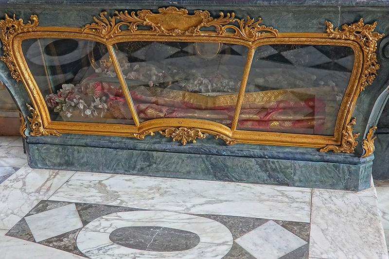 Reliquien in der Schlosskirche