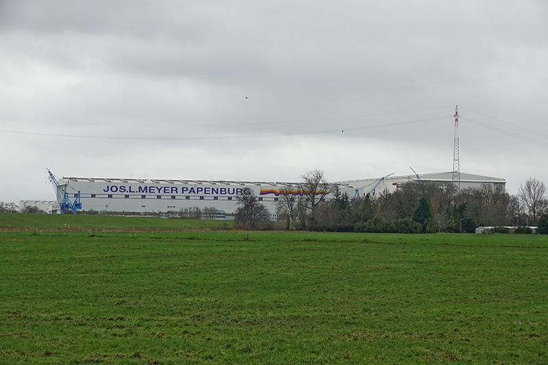 Meyerwerft in Papenburg