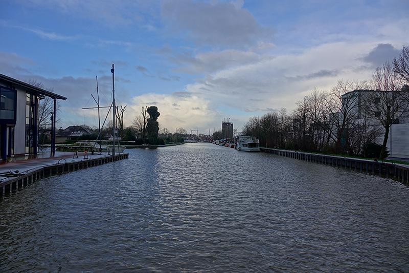In unserem Ostfriedlandurlaub wanderten wir auch an diesem Kanal entlang.