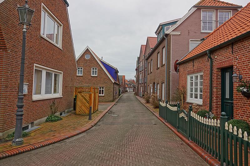 Ein Wohnviertel in Wilhelmshaven