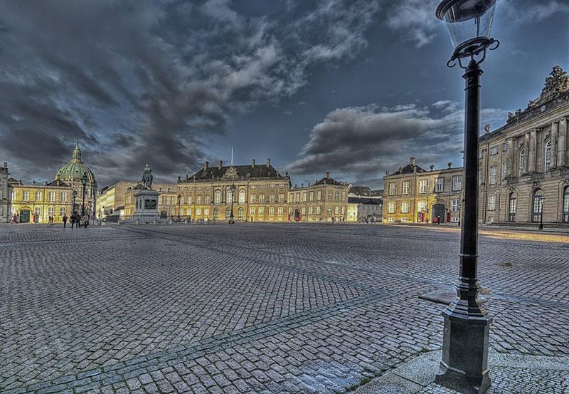 Der Hauptplatz von Kopenhagen