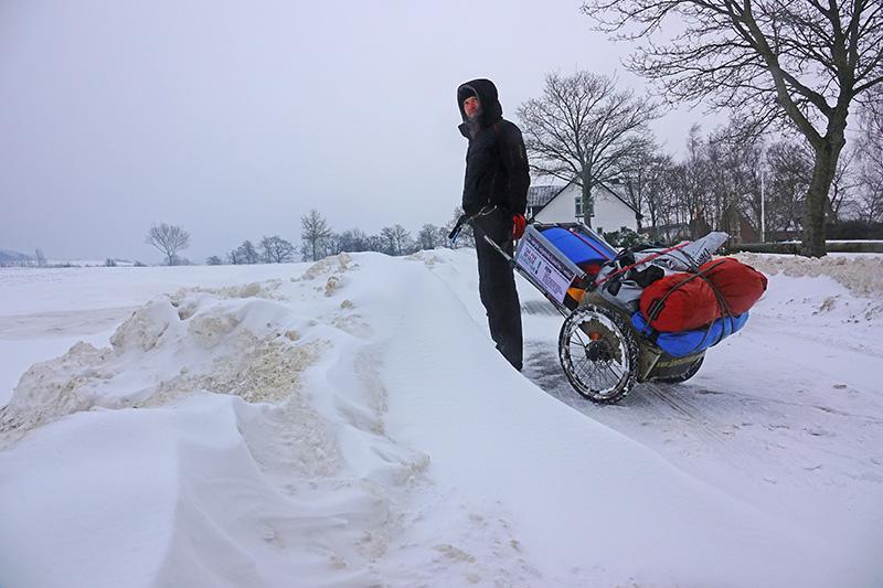 Extremer Winter in Dänemark