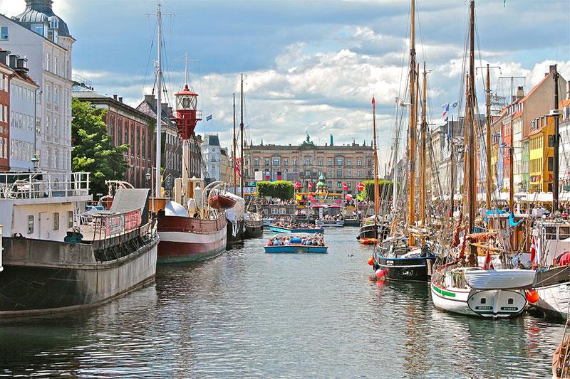 Segelschiffe in Kopenhagen