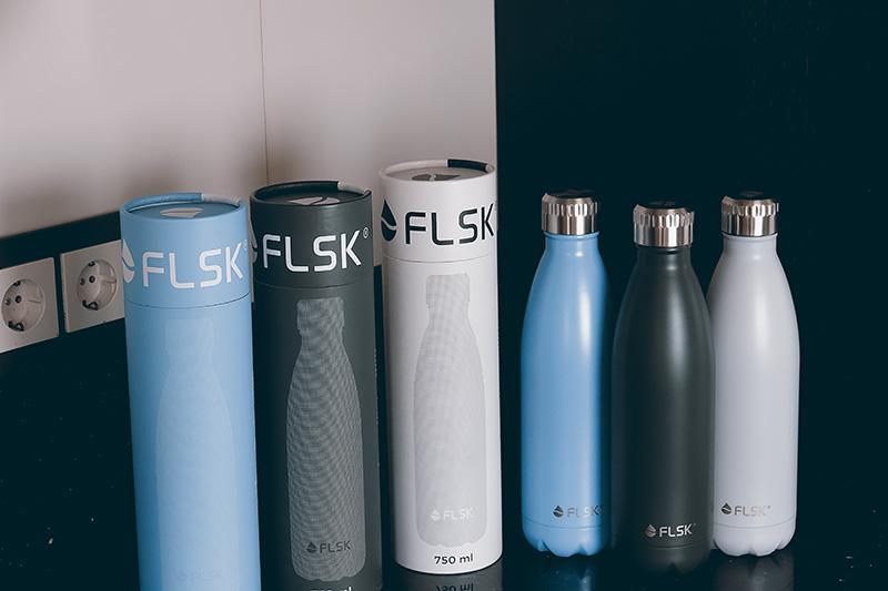 Praktische Isolierflaschen von FLSK