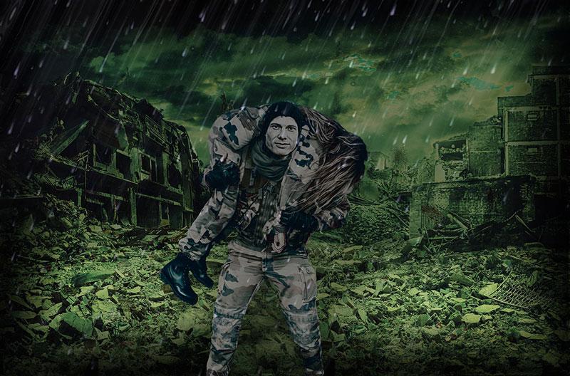 Ein guter Survivaltrainer kommt mit jeder Situation zurecht