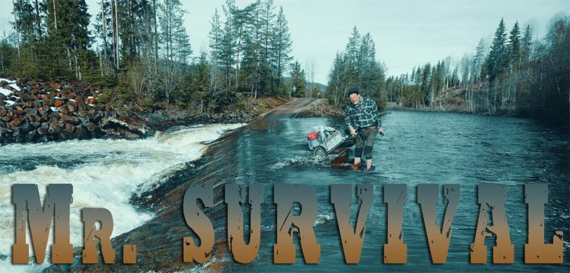 Mr Survival verrät seine Geheimnisse