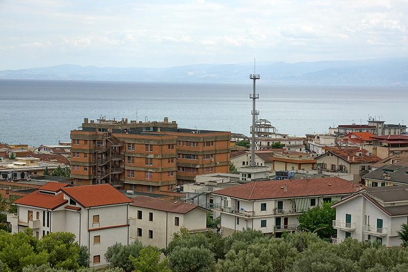 Italienische Küstenstadt