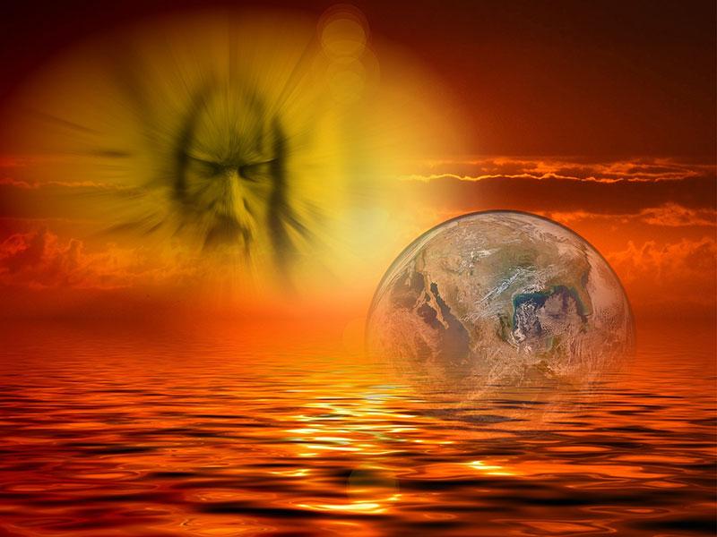 Kann die Erde ohne eine intelligente schöpferische Kraft entstanden sien