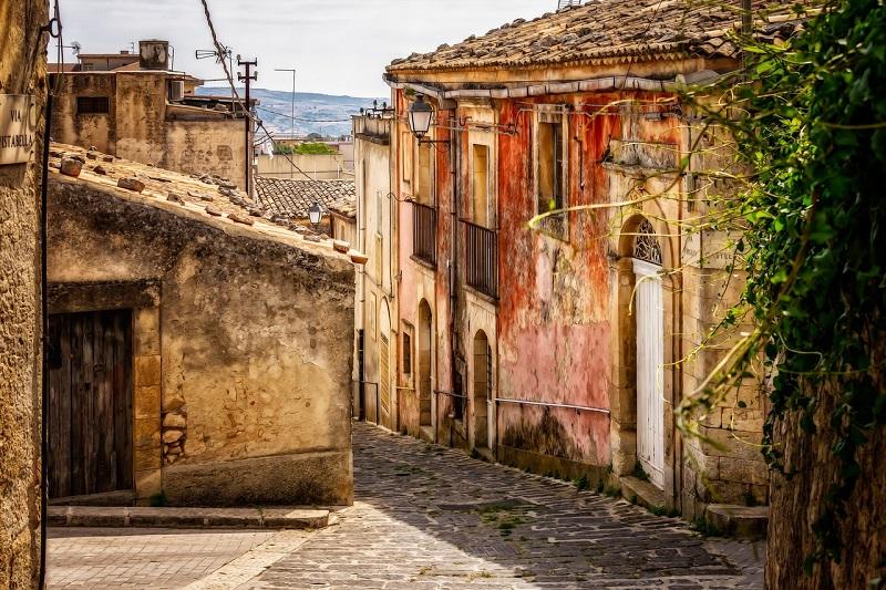 Viele Städte der Basilikata sind heute reine Slums