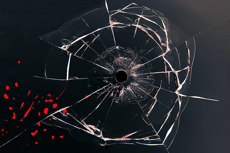 Wer kein Schutzgeld zahlt muss mit der Zerstörung seines Geschäftes rechnen