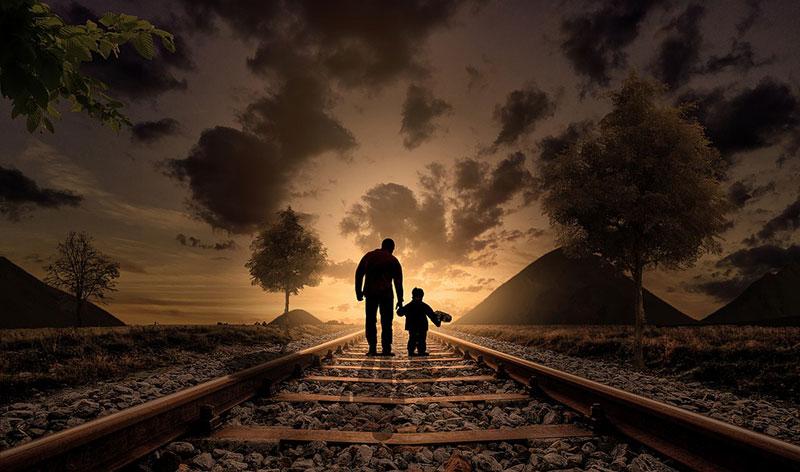 Als Kind folgen wir meist dem Weg unserer Eltern auch wenn wir uns dadurch enge Grenzen setzen