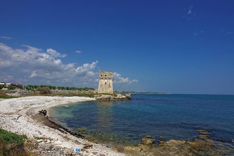 Alter Wachturm an der italienischen Grenze