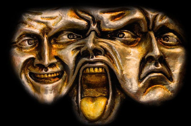 Der innere Verwirrer hat viele Gesichter