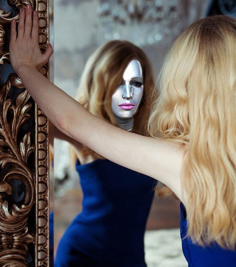 Häufig zeigen wir auch uns selbst nur Masken hinter denen wir unser wahres Sein verstecken