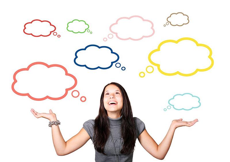 Jeder Mensch hat unterschiedlichste Gedankenstimmen die sich oft widersprechen