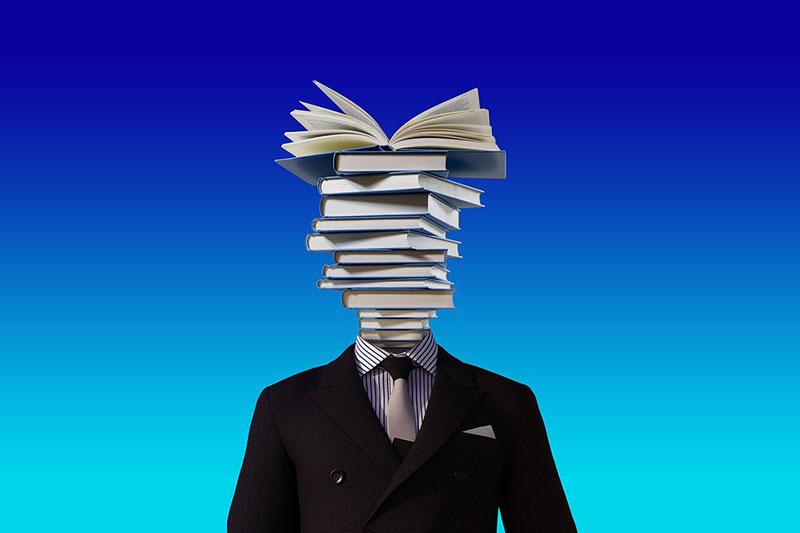 Mit der Zeit bekommen wir so viele Informationen von außen übergestülpt dass wir kaum noch wissen wer wir selber sind