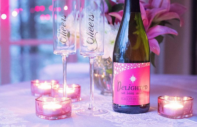 Personalisierte Weingeschenke zum Valentinstag