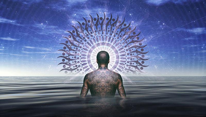 Viele Shamanen heilen mit hilfe ihrer Intuition