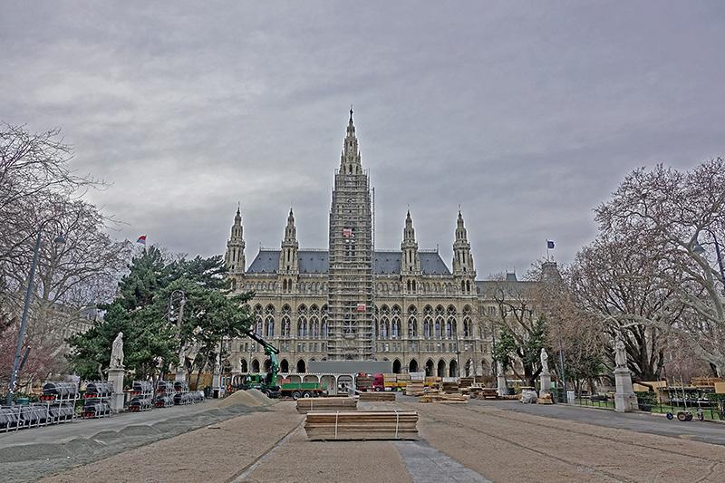 Kirche im Umbau Wien