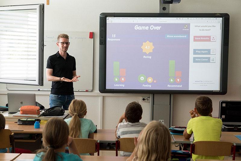 Digitales Lernen ist in modernen Schulen längst an der Tagesordnung